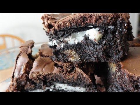 Recipes Using Cake Mixes 16 Oreo cookie brownies YouTube