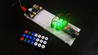 Управление нагрузкой с помощью ИК-пульта. Arduino
