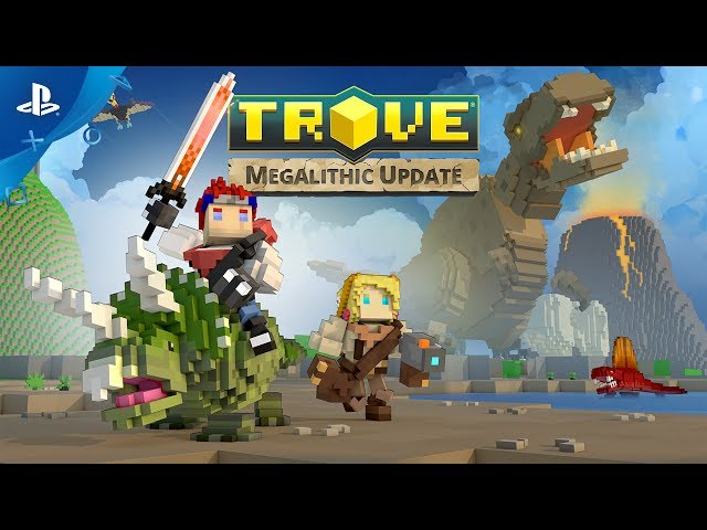 Trove - Megalithic Update Launch Trailer | PS4