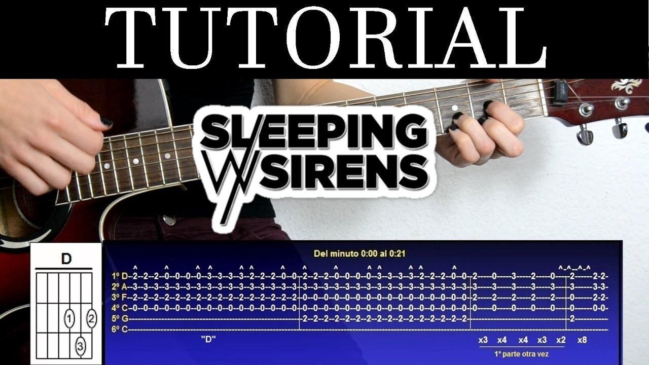 Cmo tocar all my heart de sleeping with sirens tutorial de cmo tocar all my heart de sleeping with sirens tutorial de guitarra how to play hexwebz Images