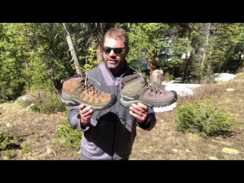 ec0ba3fe6fa7 KEEN Targhee Vent and EXP Boot Review - YouTube
