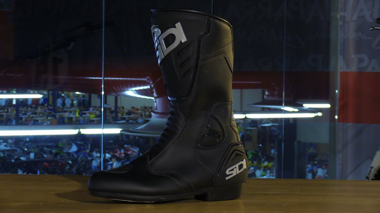 9a21def840a Sidi Black Rain Motorcycle Boots Review