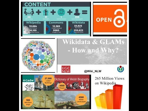 Wikidata and GLAMs  - Jason Evans, Wikimedian in Residence at the National Library of Wales