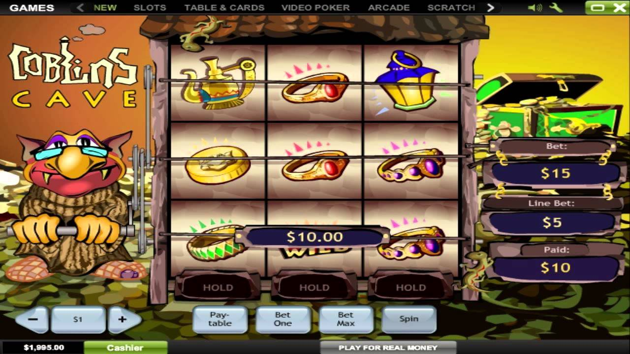 Goblins Cave Slot Machine