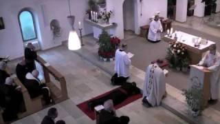 Aufruf und Anrufung der Heiligen - Ewige Profess Bruder Christian Albers