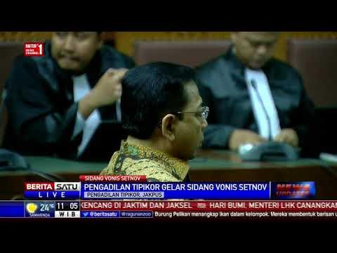 Setya Novanto Hadiri Sidang Vonis Kasus Korupsi e-KTP