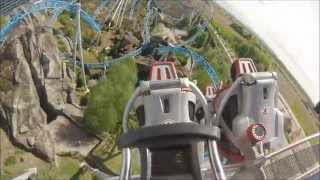 Top 8 Achterbahnen im Europapark - onride [Full HD]