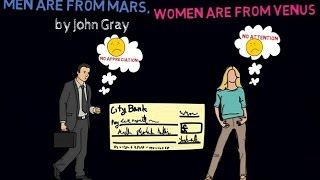 MEN ARE FROM MARS, WOMEN ARE FROM VENUS ANIMATED BOOK REVIEW - THE POINT SYSTEM EXPLAINED