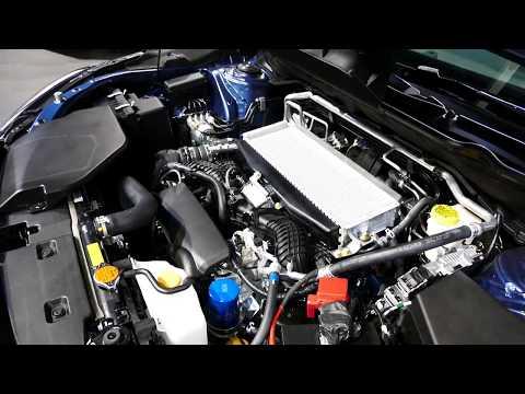 New 2019 Subaru Ascent Full Size SUV - Engine Bay Tour - 2.4L Turbocharged Boxer - 2017 LA Auto Show