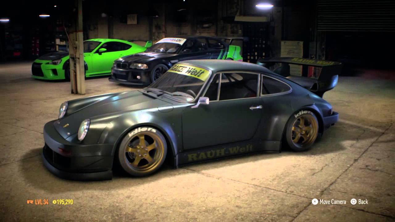 Need For Speed 2015 Nakais Porsche 911 Carrera Rsr 2 8