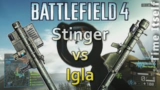 BF4 Stinger vs Igla