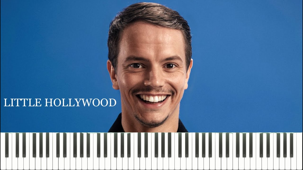 Alle Farben & Janieck - Little Hollywood (Piano Tutorial & Sheets ...