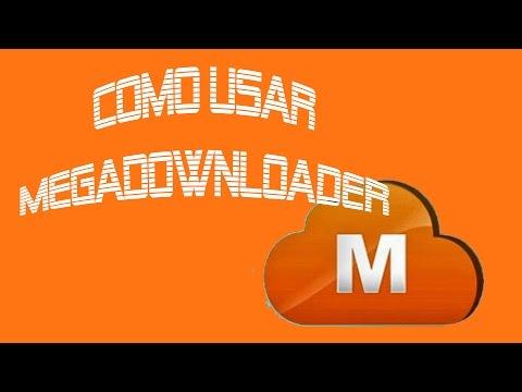 Como usar Megadownloader