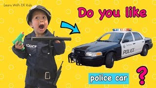 Do You Like Police Car?? Learn Simple English Songs!!
