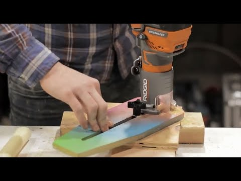 How to Make a Mini Circle Cutting Jig || Woodworking shop project
