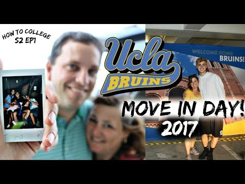 How to College: UCLA Move In Weekend 2017!