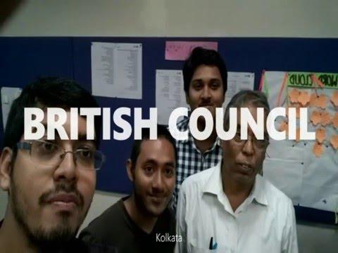 At British Council Kolkata