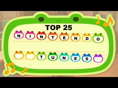 Top 25 Nintendo Tunes For Animal Crossing New Horizons!