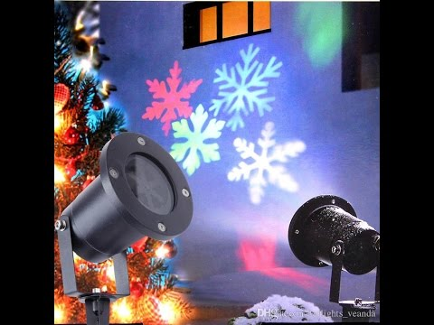 Christmas Led Lights.Christmas Led Snowflake Garden Lights Snow Laser Lights Lawn Lamp Home Decoration Holiday Light