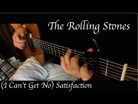The Rolling Stones - (I Can't Get No) Satisfaction - Fingerstyle Guitar