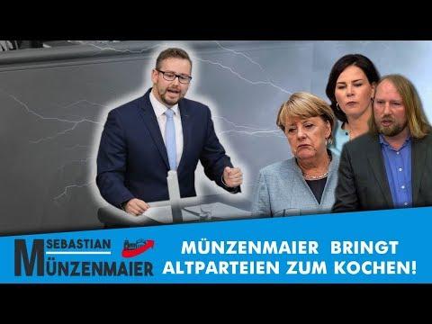 Bundestag: Münzenmaier bringt Altparteien zum Kochen