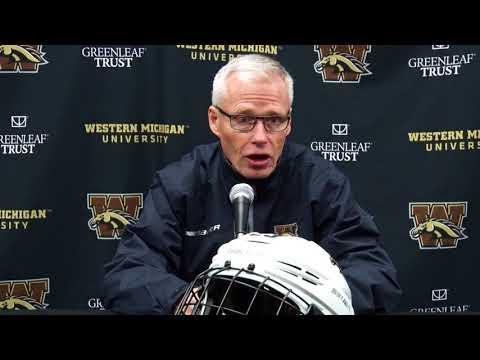 WMU Hockey Press Conference - Omaha Week