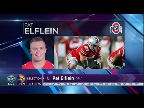 2017 NFL Draft Rd 3 Pk 70 | Minnesota Vikings Select C Pat Elflein