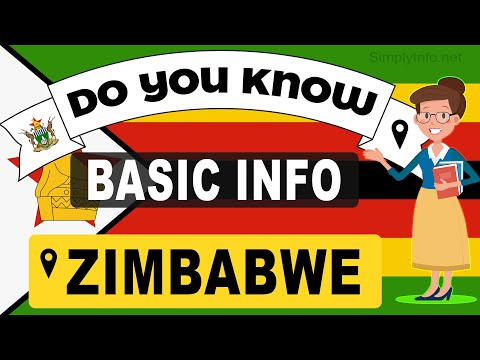 Do You Know Zimbabwe Basic Information | World Countries Information #195 - GK & Quizzes