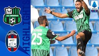 Sassuolo 4-1 Crotone | Berardi inventa, Caputo colpisce! Sassuolo a +7! | Serie A TIM