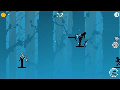 Hoàng vĩ đại #11 – chơi game người que bắn cung The Archers 2