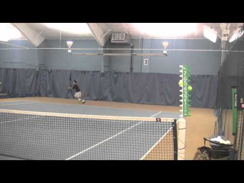 Christian Waldron Tennis Highlights (The Beacon School, Senior)