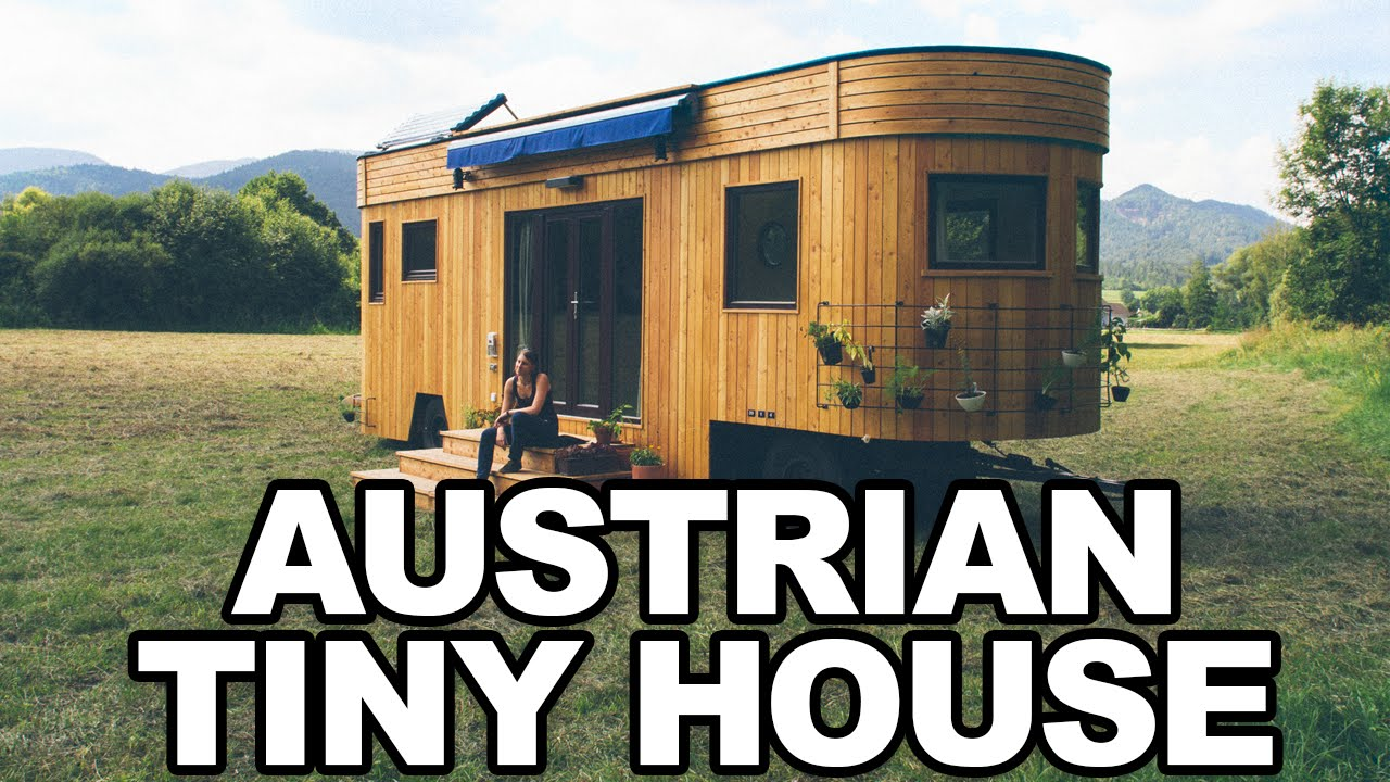 Wohnwagon Off The Grid Austrian Tiny Houses Youtube