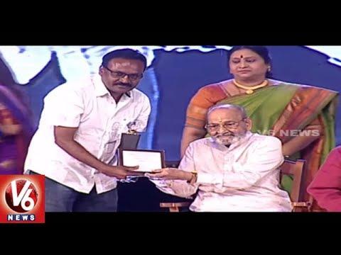 Sankarabharanam Movie Awards 2017 Distribution   Hyderabad   V6 News