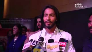Unveiling of Wax Model of Anoop Singh Thakur Mr. World 2015 By Jackie Shroff