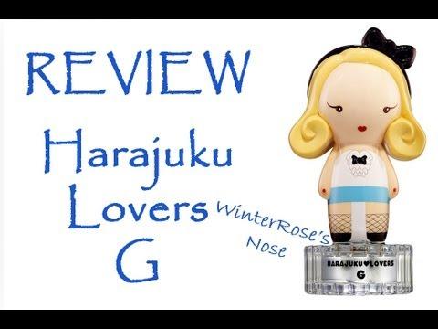 Harajuku Lovers G ( Gwen Stefani ) - WinterRose's Nose Perfume Review