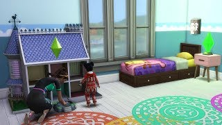 La chambre des filles d'Elsa et Anna ? Sims 4 Famille La Reine des neiges