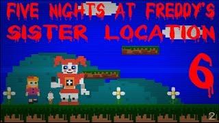 Five Nights at Freddy s Sister Location Прохождение мини игры