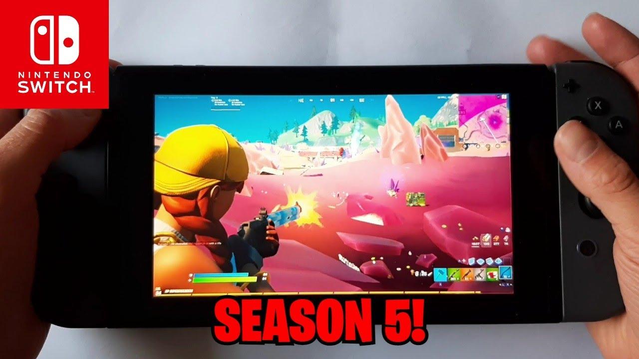 SEASON 5! Fortnite on The Nintendo Switch #33