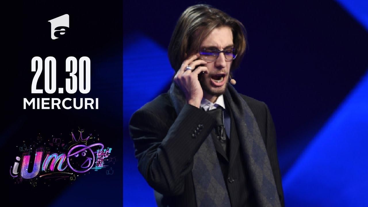 iUmor 2021 | Luca Nicola l-a adus pe scenă pe Vadim Tudor: Băi femeie pe tine nu te bat nici ...