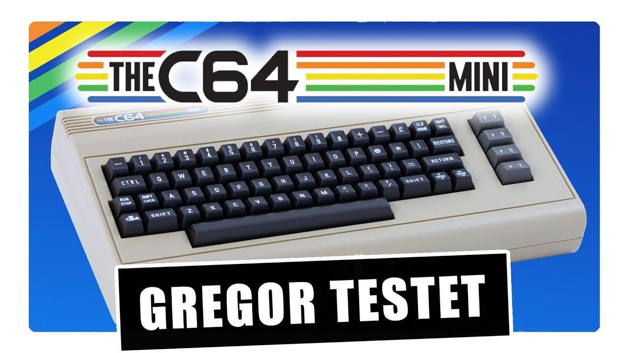 Gregor testet The C64-Mini mit Technik, Spielen & Roms (Review / Test)