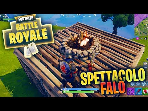 IL FALO' E' FANTASTICO! Fortnite Battle Royale ITA!