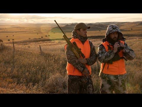 Adventurous Western Rifle Hunt For Pronghorn Antelope