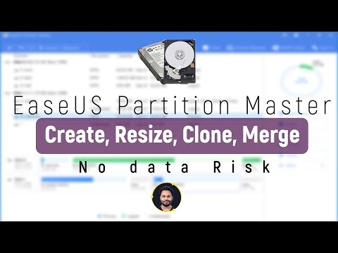 EaseUS Partition Master Free - Create, Resize, Clone, Move, Merge, And Format Partitions