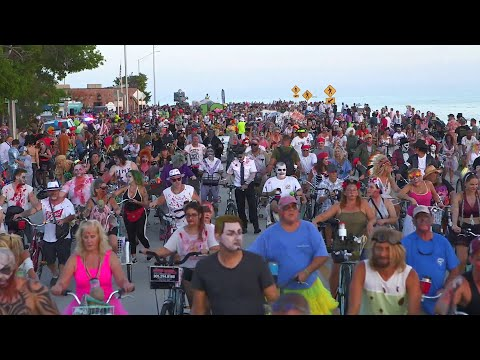 Fast Freddie - KEY WEST FANTASY FEST ZOMBIE BIKE RIDE