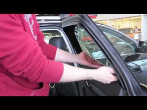Audi A6 Avant - Mounting Car Sun- and Privacy Shades