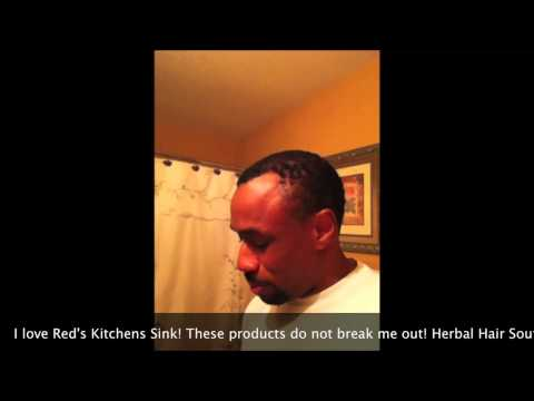 Product Review: Reds Kitchen Sink Natural Hair Products Herbal Hair Souffle!