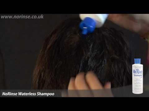 norinse-liquid-dry-shampoo---waterless-hair-care-demonstration