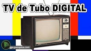 Como COLOCAR TV DIGITAL em TV DE TUBO sem entrada de aúdio e vídeo