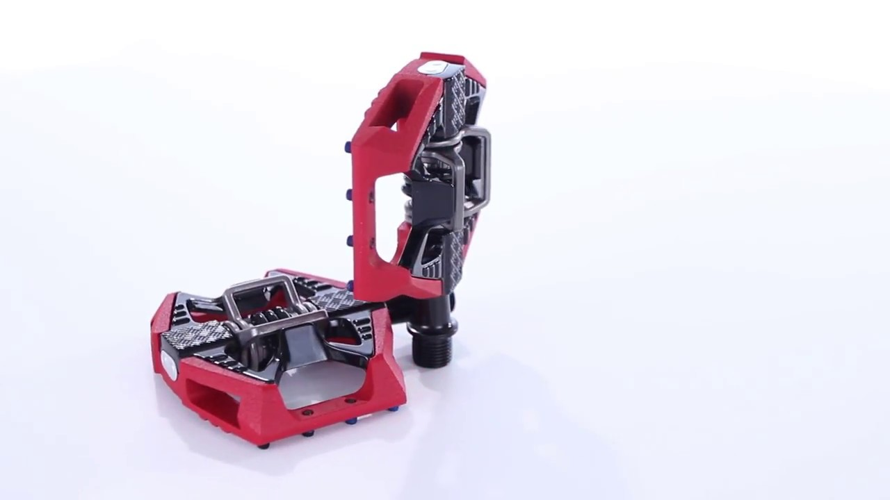 NEW Crank Brothers Doubleshot 3 Pedals Red//Black
