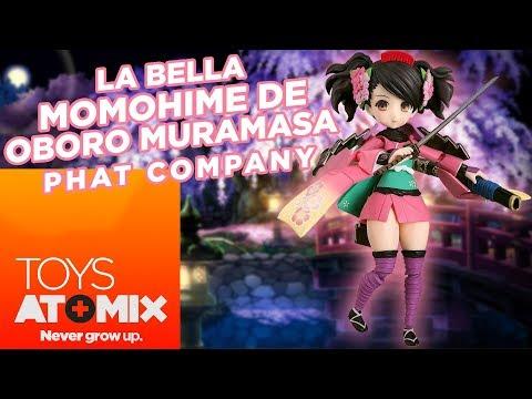 #AtomixToys - La bella Momohime de Muramasa (Phat Company)